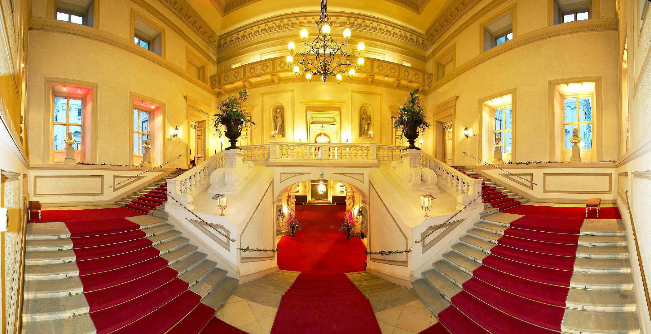Palais Auerperg Wien - Vestibül