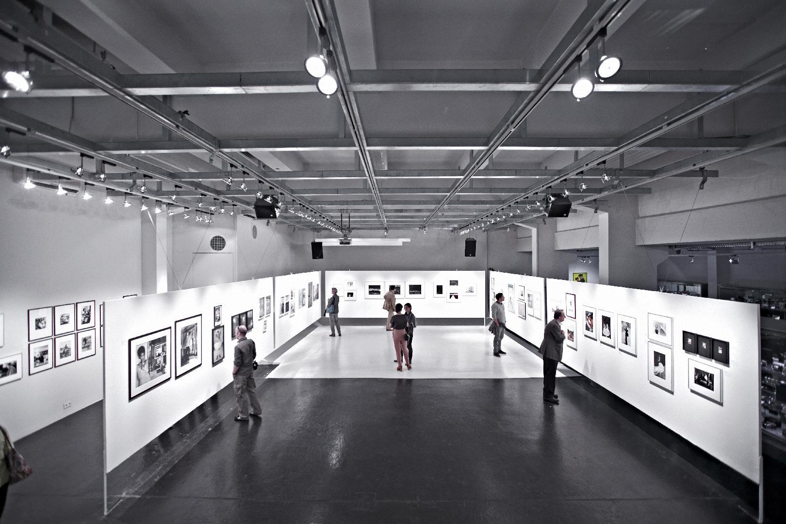 WestLicht Hauptraum, Foto: Sandro Zanzinger