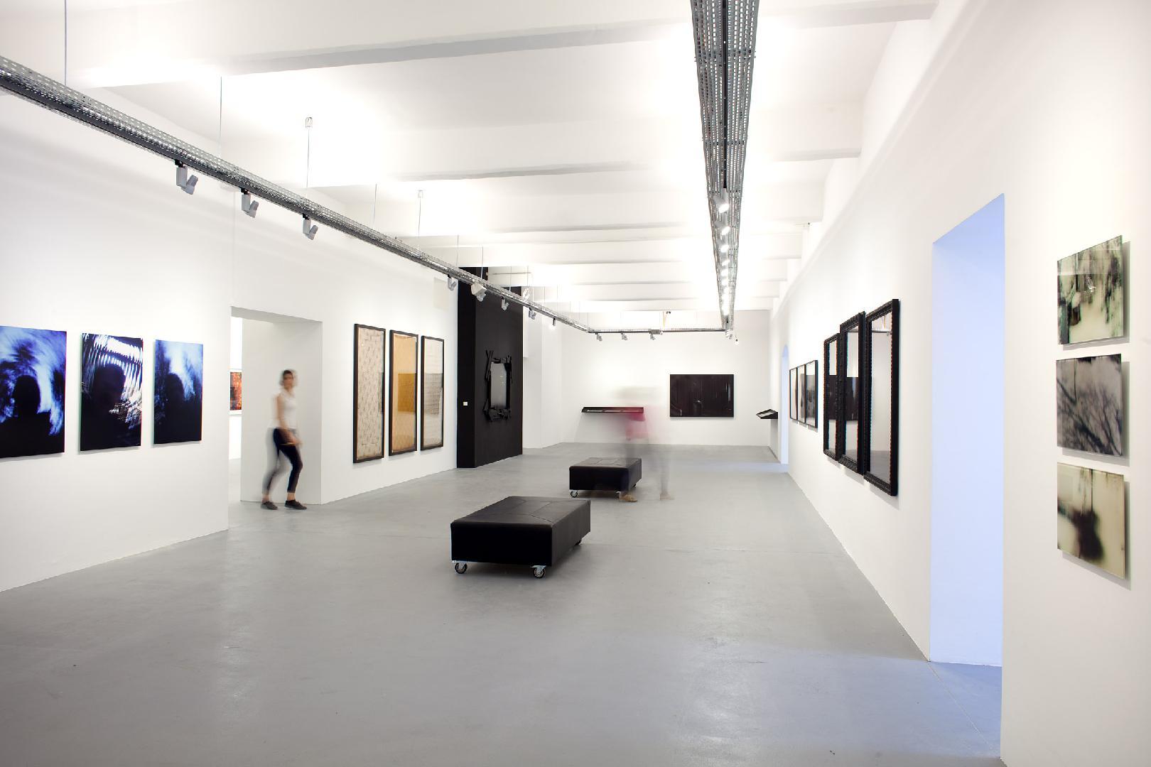 Galerie OstLicht, Hauptraum, Foto: Marco Pauer