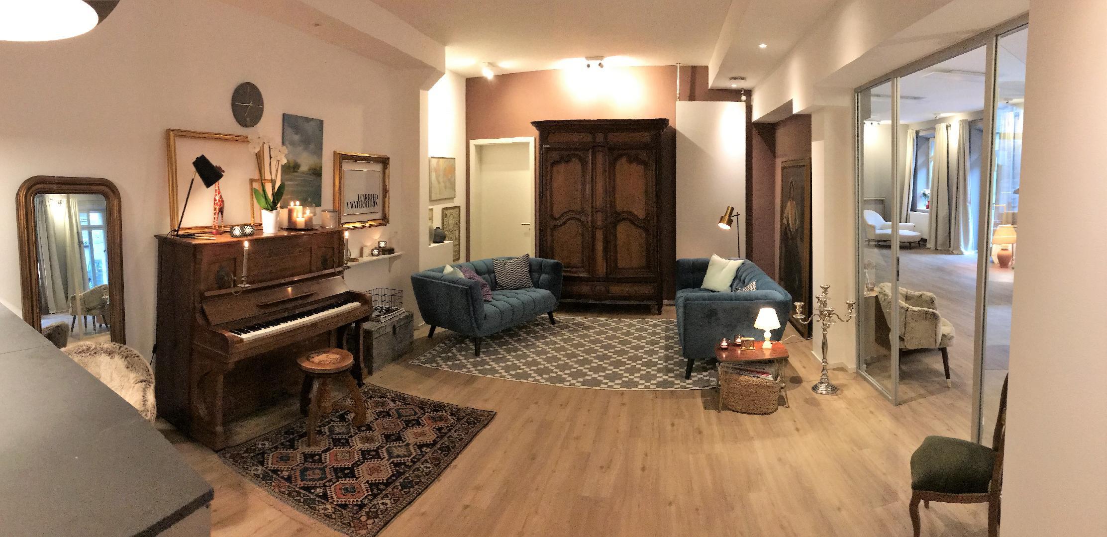bild 1 von seminarraum in wohnzimmer atmosphare