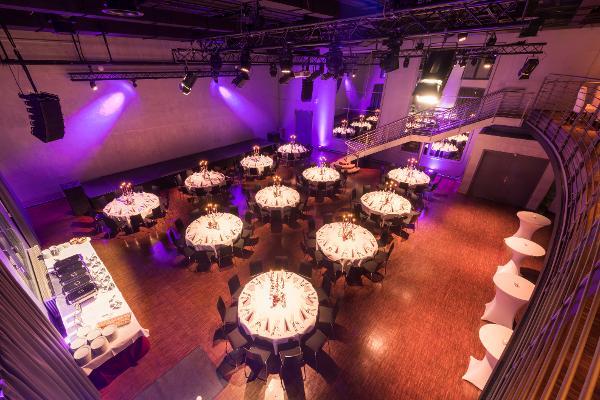 Palais Bankettbestuhlung für 110-200 Personen