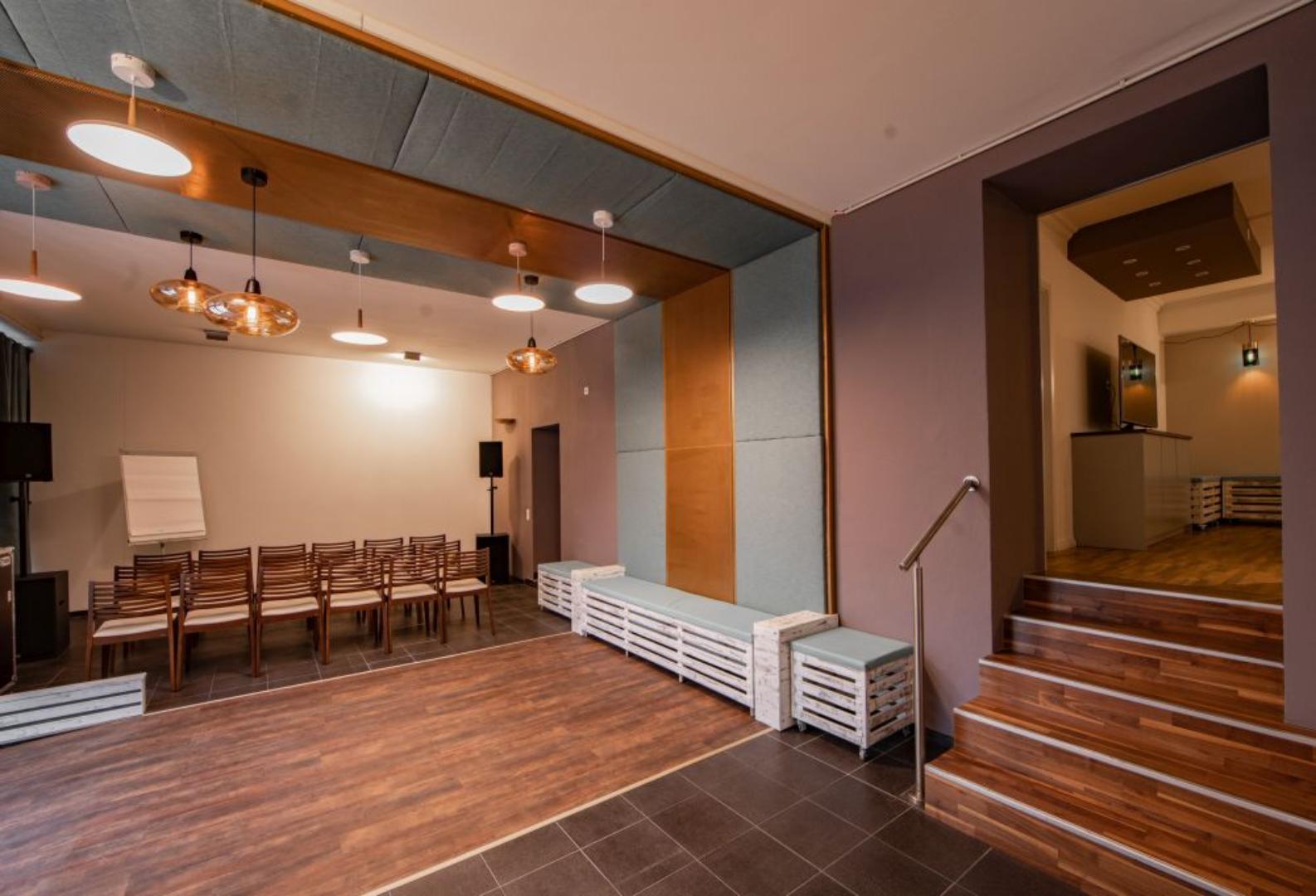 Palais Studios entrance area