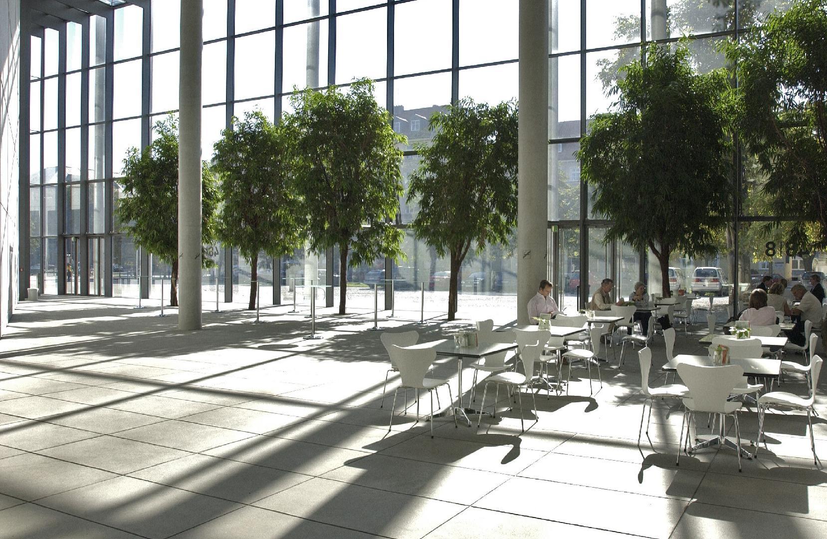 Pinakothek der Moderne, Wintergarten