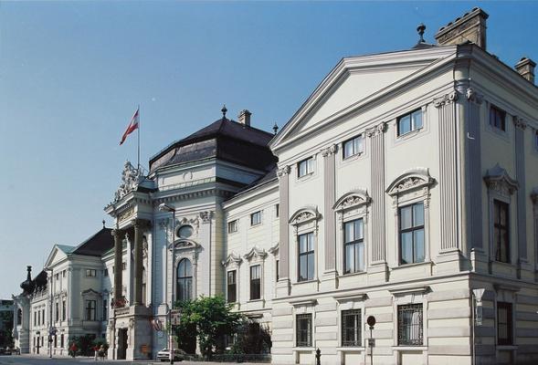 Palais Auersperg Wien - Fassade