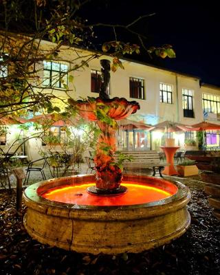 Brunnen by night