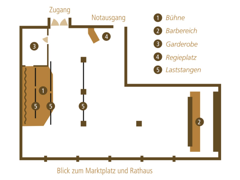 Picture 3 of Blauer Salon im Leipziger Central Kabarett