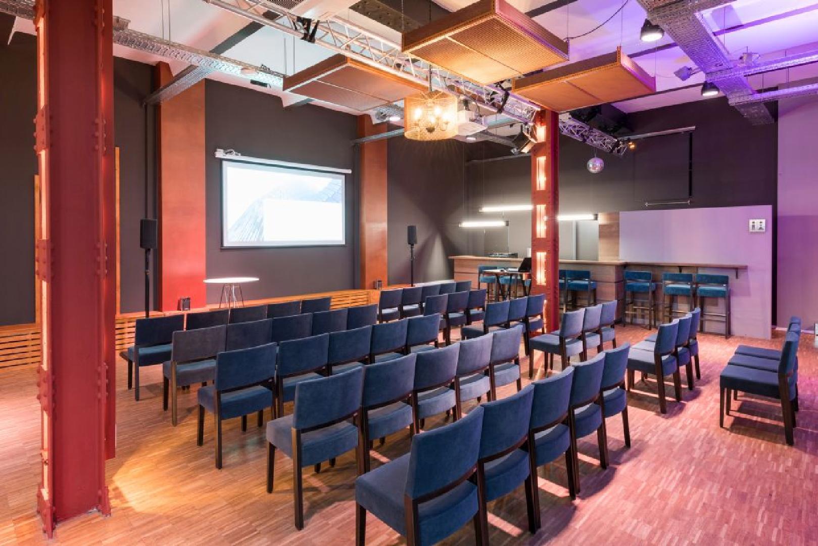 Palais Atelier mit Reihenbestuhlung für max. 80 Personen