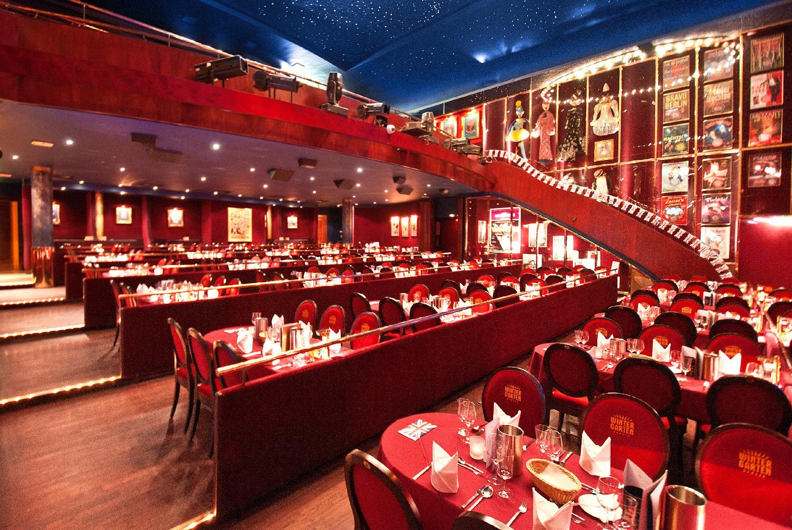 Wintergarten Berlin Club Restaurant Lounge Event