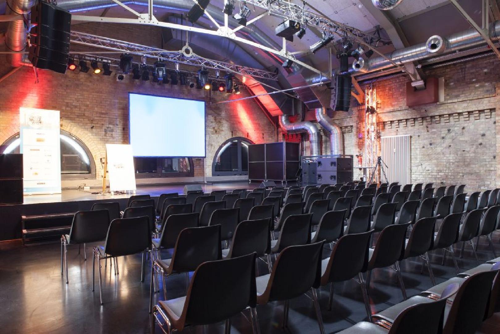 Angrenzend zum Kesselhaus, Workshopraum Maschinenhaus für max. 100 Personen