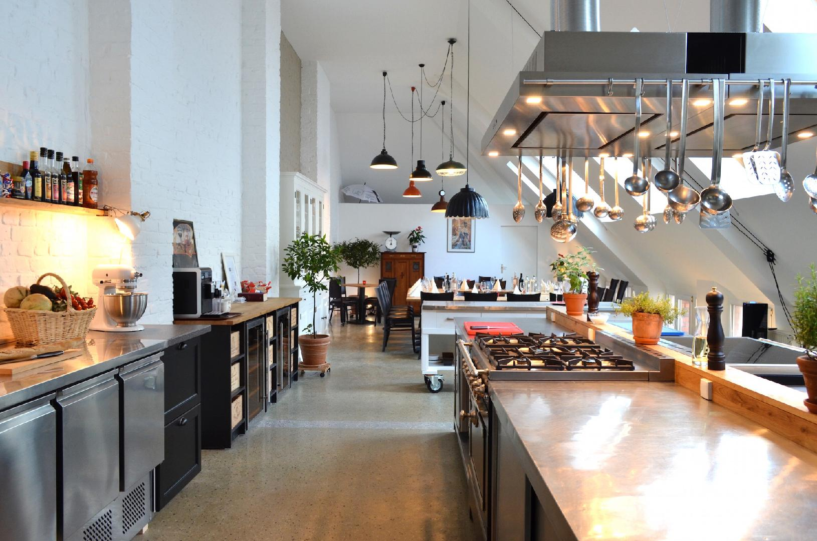 Kochstudio  Event-Kochstudio Club culinaire – Loft, Eventlocation ...