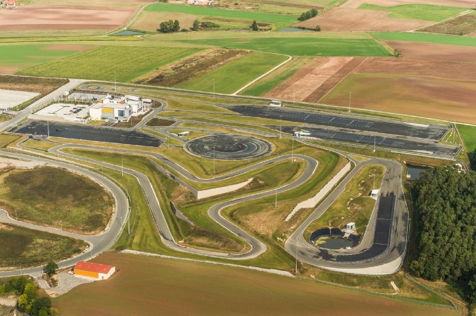 Luftbild der Anlage