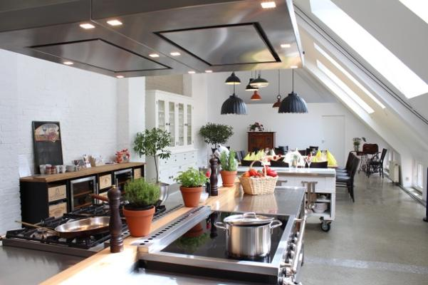 Kochstudio  Event-Kochstudio Club culinaire – event location, loft – Venue in ...