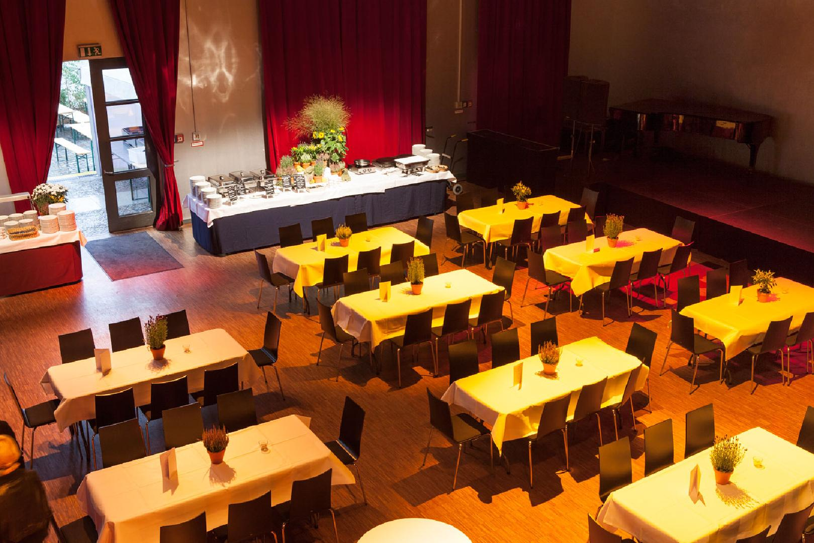 Mittagspause im Palais