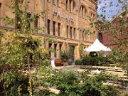 Außenbereich am Palais