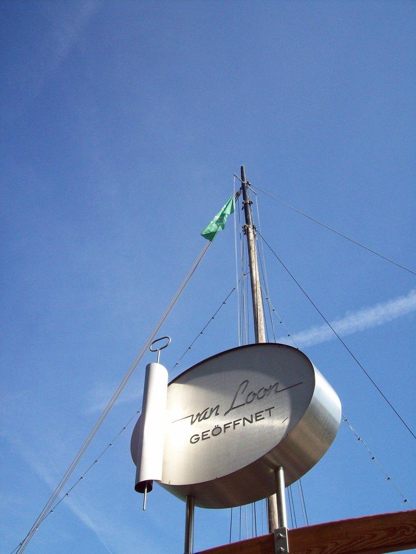 Willkommen an Bord der van Loon!